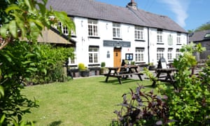The Raven Inn, near Ruthin, Wales