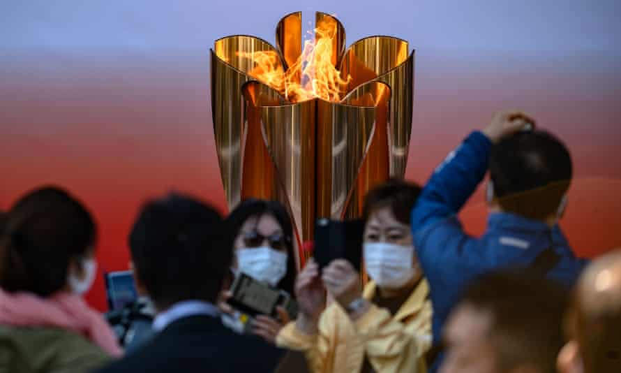 Tokyo 2020 Olympic flame