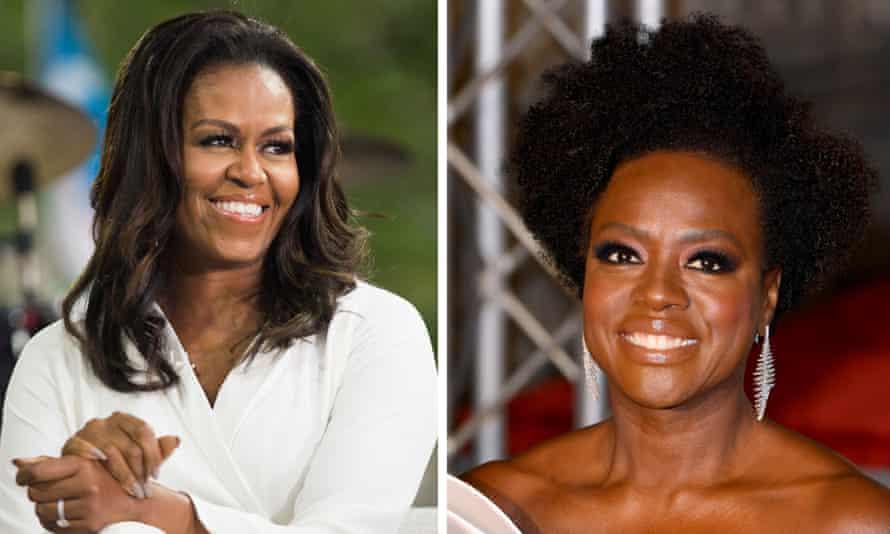 Michelle Obama and Viola Davis.
