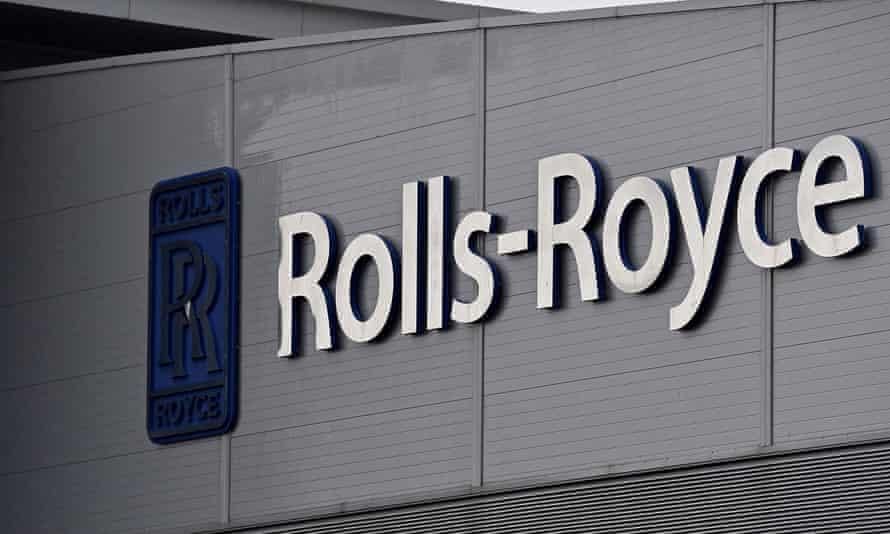 Rolls-Royce sign