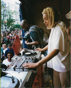 Kemistry at the Notting Hill carnival in 1994.