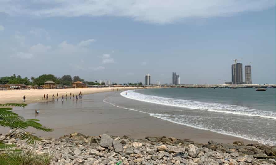 The beach at Tarkwa Bay