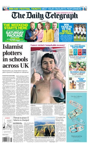 The Daily Telegraph in May 2014