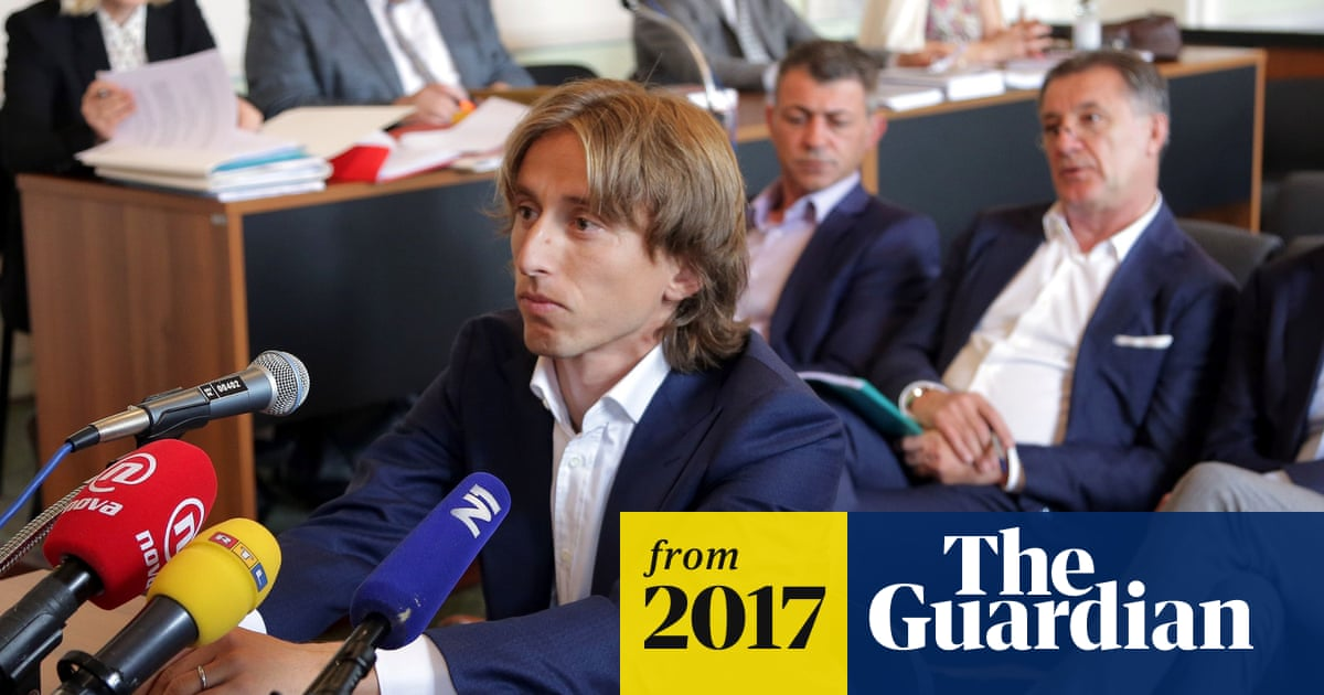 0b27f74f6 Luka Modric could face up to five years in prison for suspected perjury in  trial