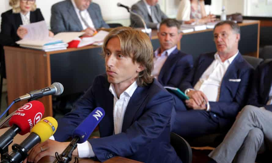 Croatia and Real Madrid midfielder Luka Modric