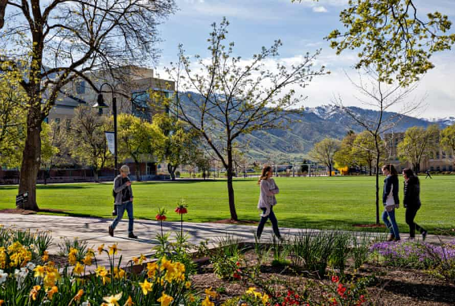 At Utah State University, Charles Koch is funding a new business school think tank.