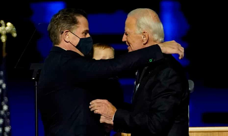 Hunter Biden has long been a target of Trump, whose pursuit of so-far unfounded claims of corruption led to his impeachment.