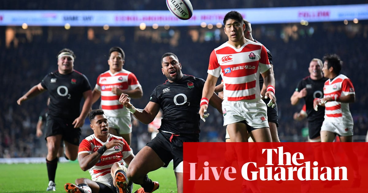 809272215ce England 35-15 Japan: rugby union international – as it happened | Sport |  The Guardian