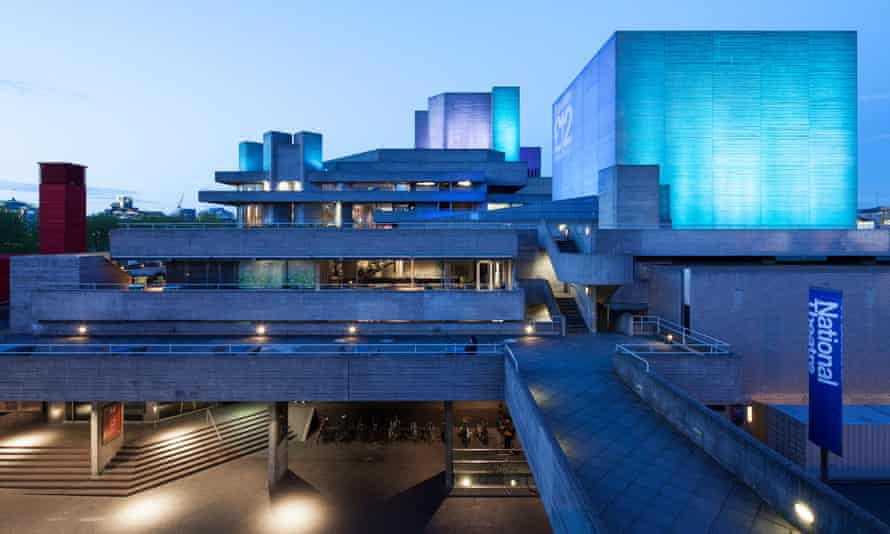 Denys Lasdun's National Theatre in London recalls Hawksmoor's St Anne's Limehouse.