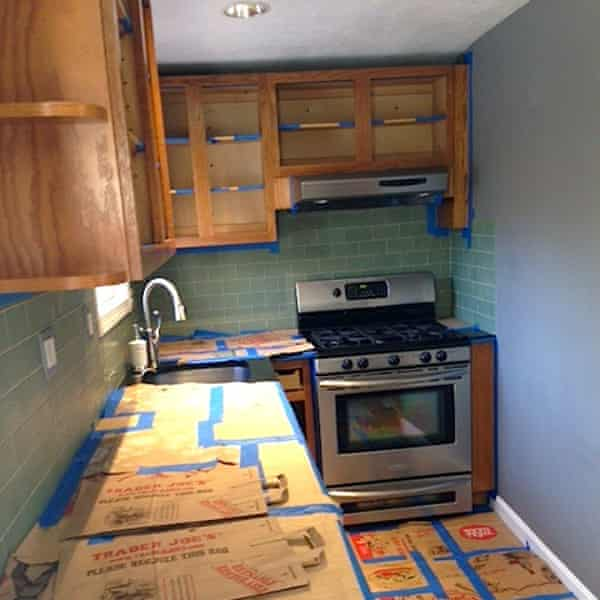 Painting their own kitchen cabinets brought the Frugalwoods closer in their marriage. Gratitude and respect began to infuse their interactions.