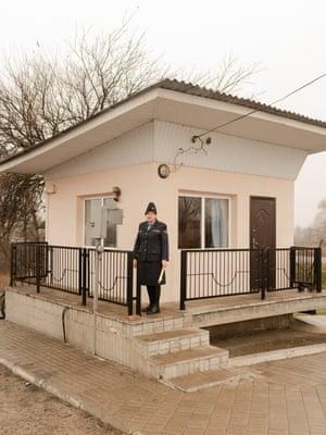 Nadiia Danylivna Ivantsova, 12 km crossing, Brusyn-Prydonets'ka distance, Donetsk Railroad