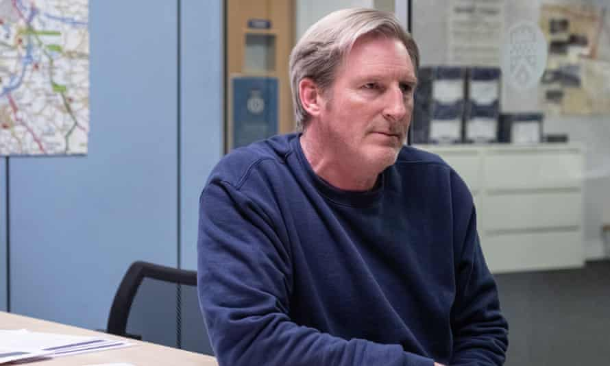 Time's up for Ted? Hastings (Adrian Dunbar) awaits his fate in Line of Duty.
