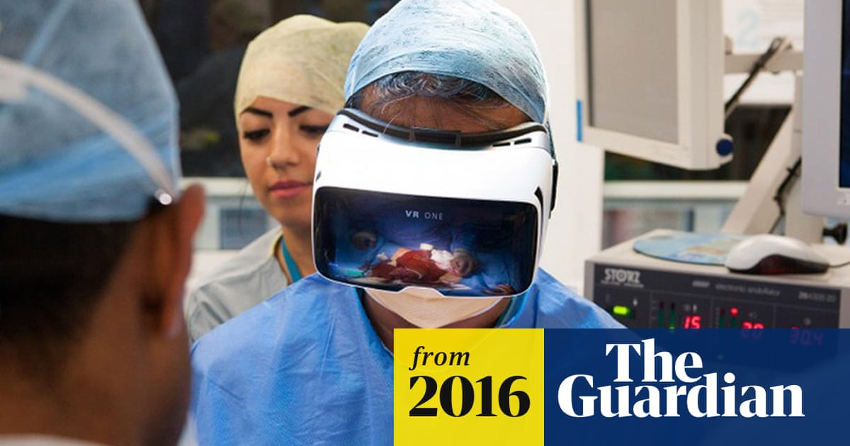 Cutting-edge theatre: world's first virtual reality operation goes live