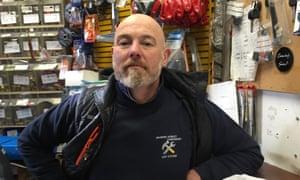 Hardware shop owner in Dublin, James Alden