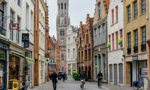 A street in Bruges