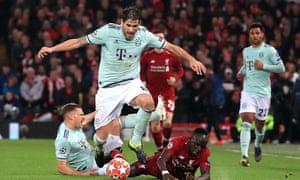 Javi Martínez, Liverpool v Bayern Munich