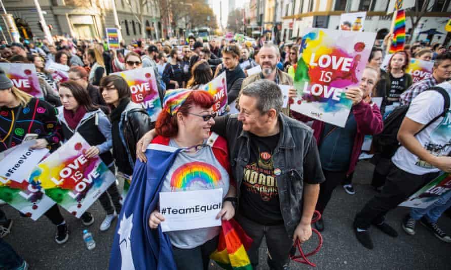 Australian Marriage Equality Rally