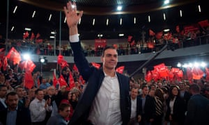 Spanish Prime Minister and candidate for the Spanish Socialist PSOE party Pedro Sanchez