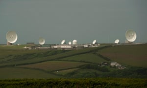 A GCHQ outpost at Bude in Cornwall.