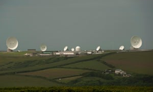 GCHQ's outpost at Bude, Cornwall.
