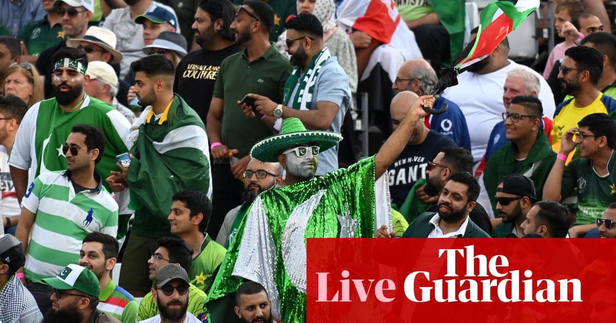 England v Pakistan: second men's T20 – live!