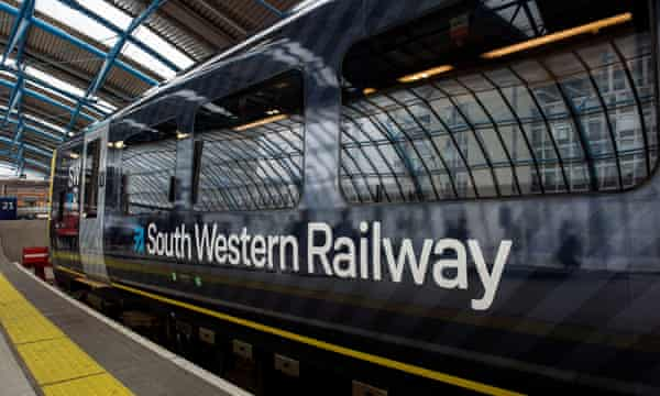 South Western Railway, majority owned by FirstGroup.
