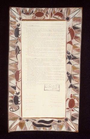 The Yirrkala Bark Petition