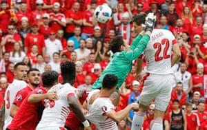 Fabian Schär heads home the only goal.