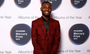 Dave arriving at the Mercury prize 2019.
