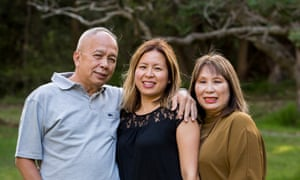 Elrica Alzona with parents Hezekiah Ling and Meity Massie