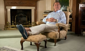 terry wogan at home in 2014
