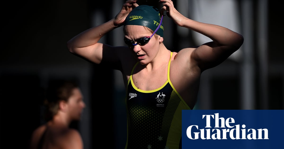 Australian swimmers eager to entertain on the eve of Olympics duel with US