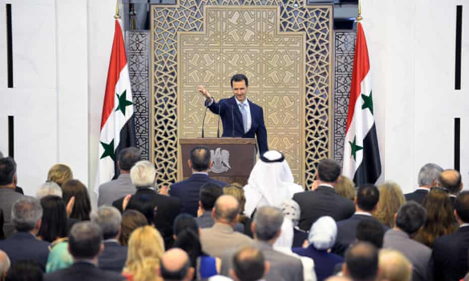 Syrian president Bashar al-Assad's speech in late July effectively ceded control of large tracts of the country by admitting that regime troops were overstretched.
