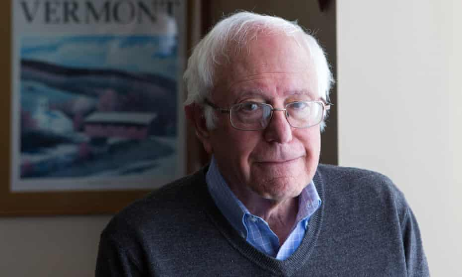 Bernie Sanders: 'There are millions of people in this country and all over the world who have been left behind.'