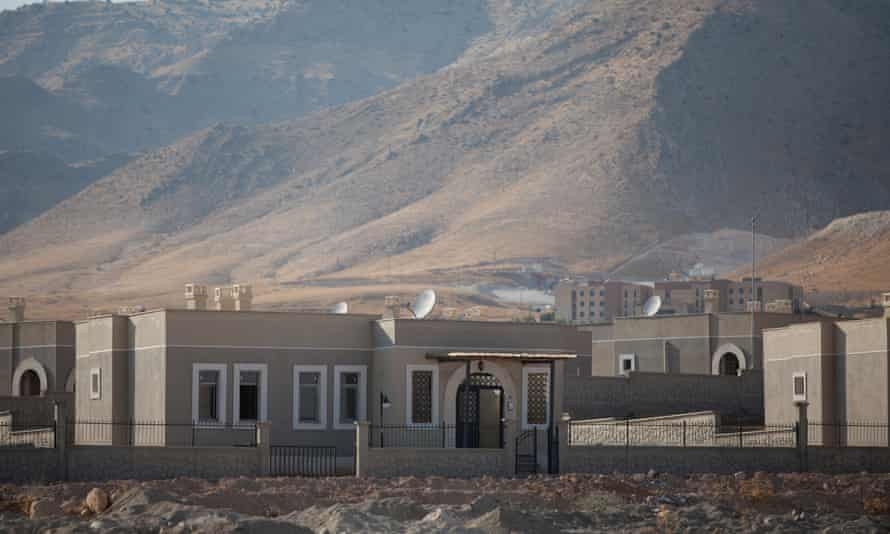 Homes that will make up part of the village Hasankeyf residents are being relocated to.