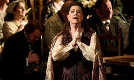 Camilla Roberts in Cavalleria Rusticana