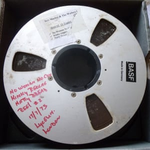 The hoard of lost Bob Marley Master recordings were discovered in a rundown hotel in London.