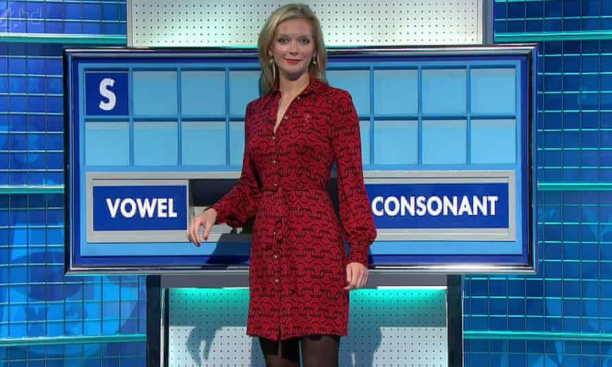 Countdown presenter, Rachel Riley