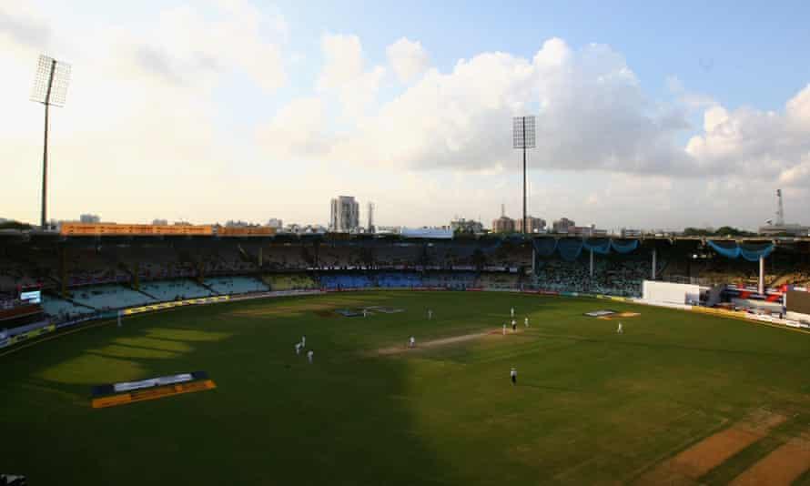 The MA Chidambaram stadium in Chennai.
