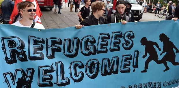 Merkel, Refugees and Machiavelli : Refugee Crisis