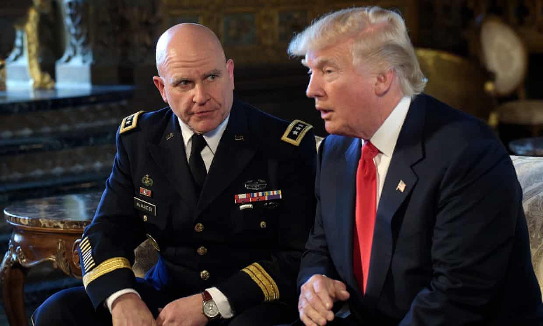 McMaster book may be detrimental to Trump