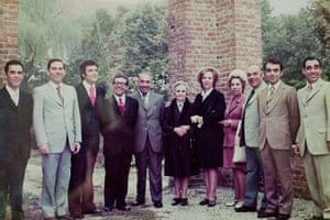 Photos of former workers of the Eternit factory who were victims of asbestos