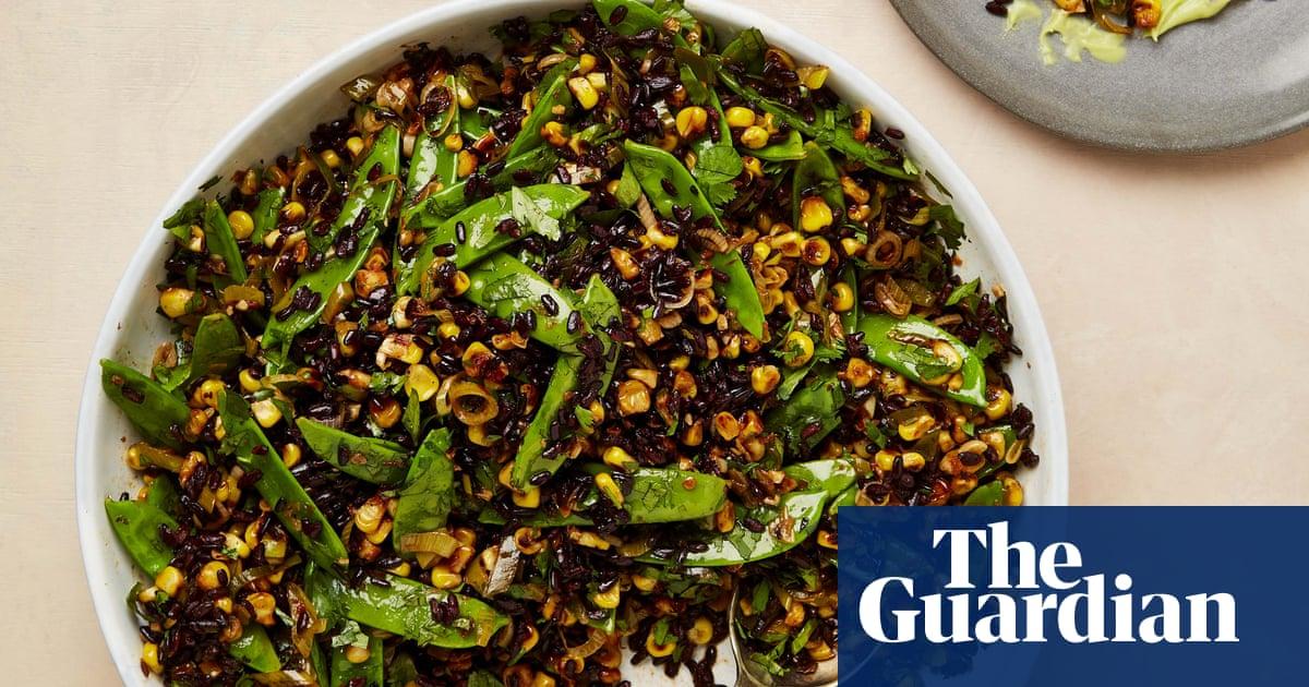 Meera Sodha's vegan recipe for sweetcorn, chipotle and avocado rice salad