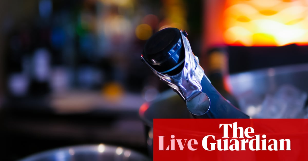 Trade war: France hits back over US tariff threat on cheese and champagne – business live | Business
