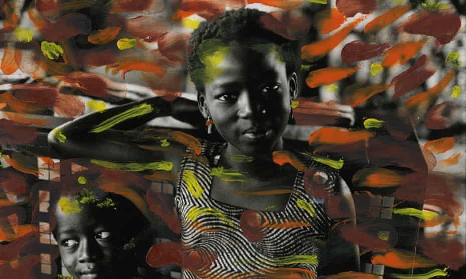 Abidjan Children, painted, 1972