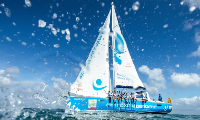 Sailing adventure: how young cancer patients can rebuild confidence at sea