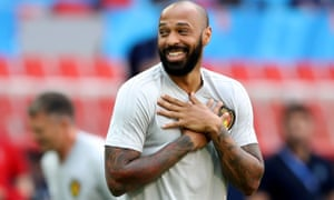 Thierry Henry, the Belgium assistant coach, is favourite to be Aston Villa's new manager.