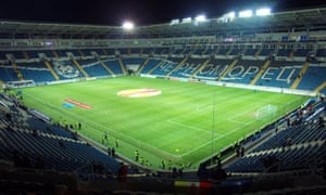 Manchester United will play their Europa League game against Zorya Luhansk at the Chornomorets Stadium in Odessa.