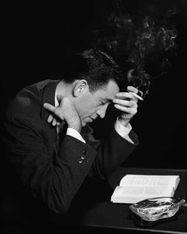 JD Salinger in 1952.