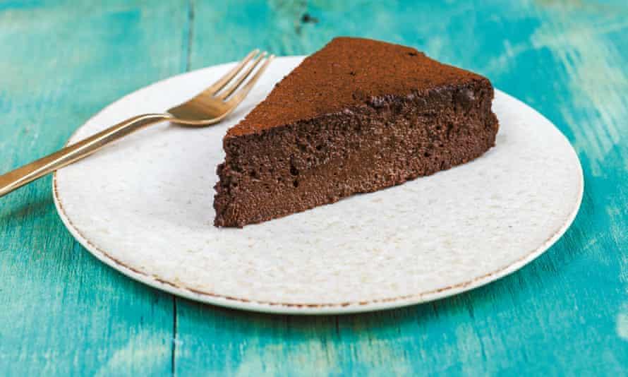 Dark chocolate espresso mousse cake. Sirocco by Sabrina Ghayour